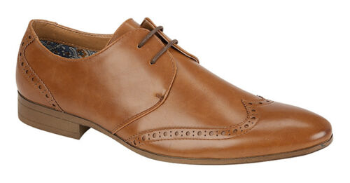 NEW MEN/'S CASUAL COMFORTABLE FORMAL BROGUE CHARLES SOUTHWORTH STYLISH LACE UP