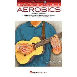 Hal Leonard Baritone Ukulele Aerobics For All Levels Book/Online