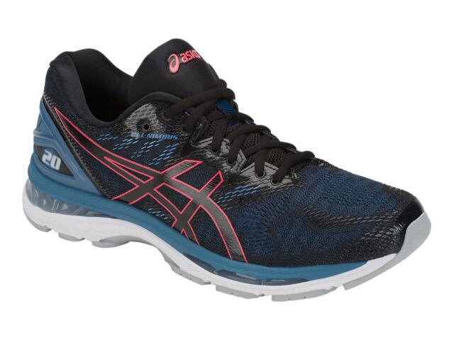 new style e62de 7c9ff [asics] GEL-NIMBUS 20 Black / Azure Men's Running Shoes T800N.003 US  7.5-11.5