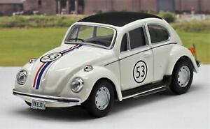 Cararama-1-43-Diecast-Model-VW-Beetle-HERBIE-Boys-Girls-Toy-Car-Present-Boxed