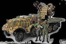 Forces Of Valor # 80069 GERMAN SD. KFZ. 7/1 MIT 2 CM FLAKVIERLING   1/32nd  MIB
