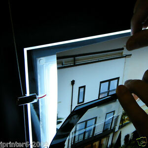 A4 5 Pieces LED Window Pocket Light Panel Estate Agent Display Kit Single Side