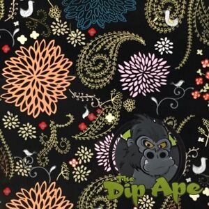 PAISLEY BUTTERFLIES HYDROGRAPHIC WATER TRANSFER HYDRO FILM DIP APE