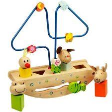 Bigjigs Toys BB045 Tier-Schaukelboot HOLZSPIELZEUG NEU