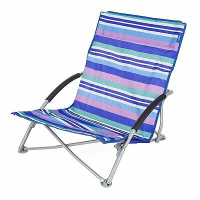Blue Oudort Backpacking Camping Chair Portable Lightweight Compact Folding Beach Chair