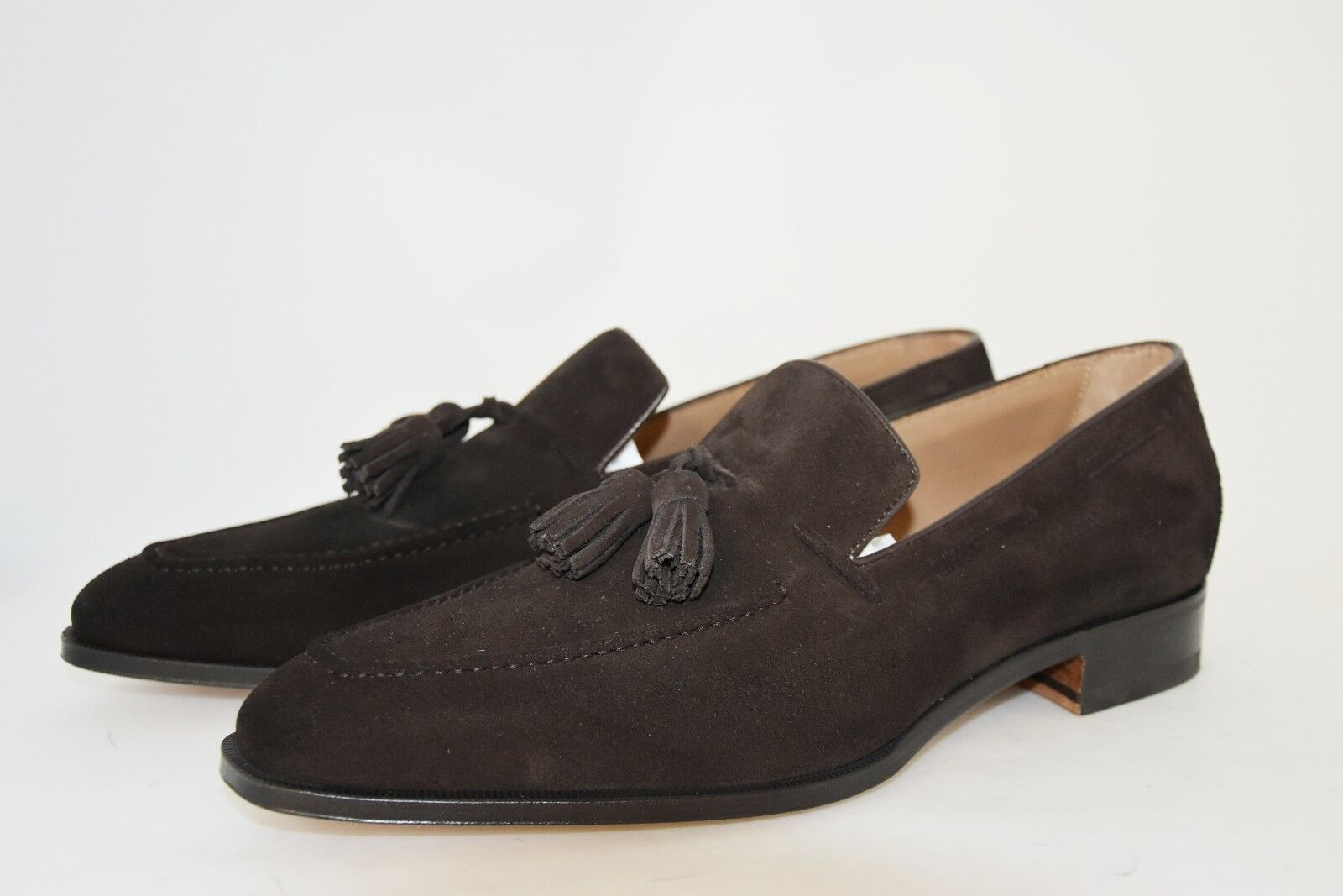 Man - 9eu - 10usa - Tassel - loafer - mocassino - brun foncé