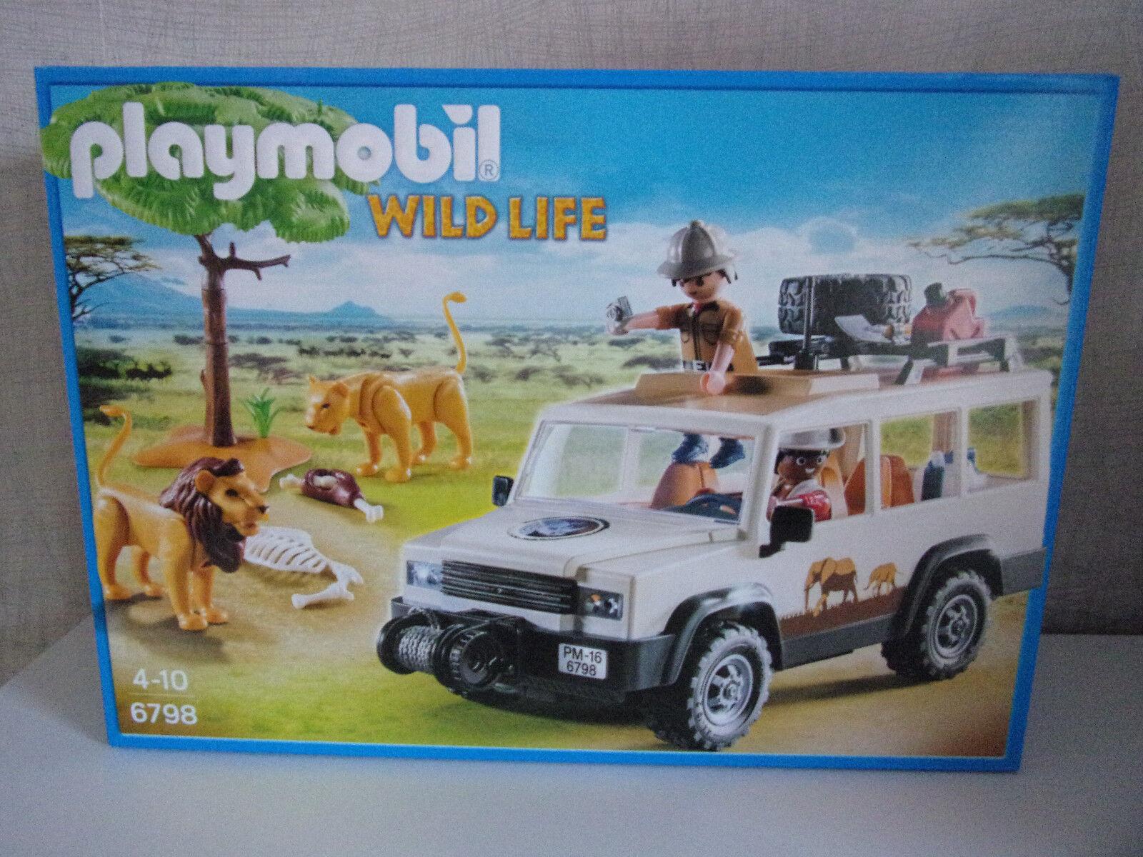 Playmobil Wild Life 6798 Safari Geländewagen mit Seilwinde - Neu & OVP