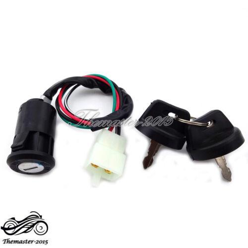 Ignition Key Switch For E-Ton Eton 50cc 70cc 90cc ATV Quad Replace Part# 650720