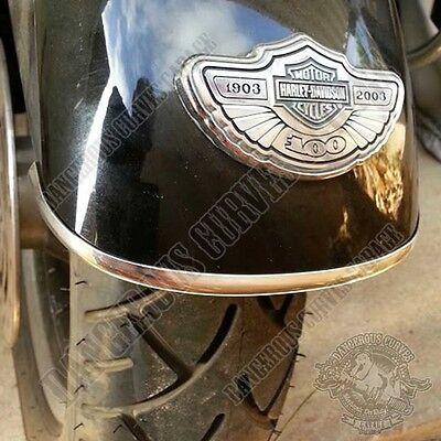 8 ft Chrome Trim Edge Kit For Motorcycle Gas Tank Fender Windshield or Saddlebag