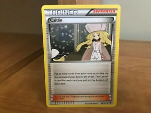 Pokemon Card Trainer Caitlin 78/101 Plasma Blast in Good ...