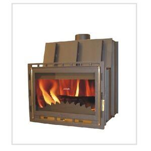 kaminofen einsatz wasserf hrend 14kw f r pufferspeicher kombispeicher boiler ebay. Black Bedroom Furniture Sets. Home Design Ideas