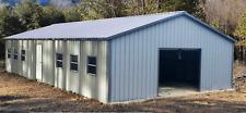 Steel Metal Workshop Garage Utility Shed Building 26 X 51 X 9