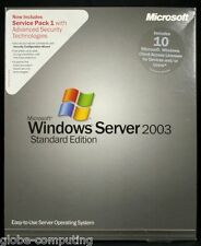 Microsoft Windows Server 2003 Standard Edition inc 10 CAL P73-01072