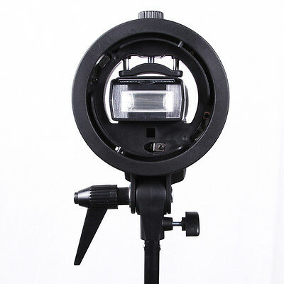 Godox S-Type Bracket Elinchrom S Mount Holder for Speedlite Flash Snoot Softbox