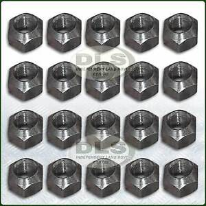 27mm-1-1-6-034-Steel-Wheel-Nut-x-20-Land-Rover-Series-3-and-Defender-RRD500010