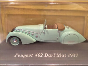 PEUGEOT 402 DARL/'MAT 1937 Vert pistache ALTAYA 1:43