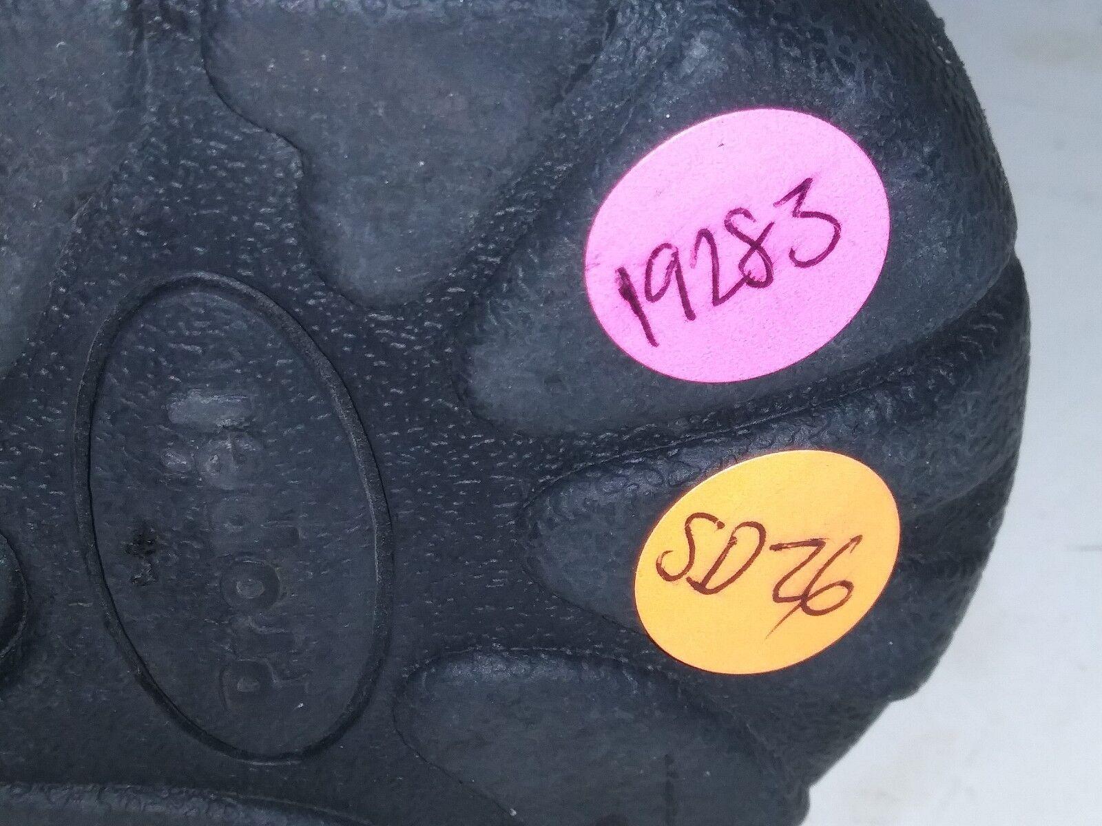 Propet M3856 Wash and Loop Wear Tie Black Hook Loop and Walking Shoes Mens Size 12 M f50076