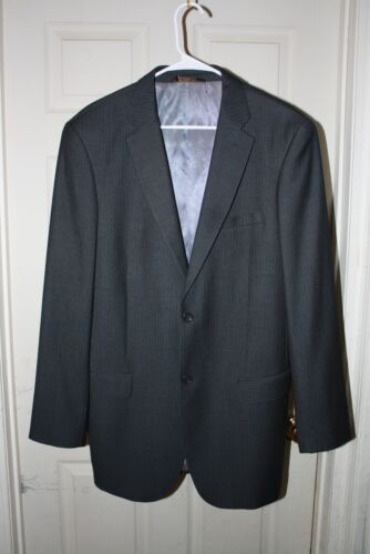 Caravelli Italy Superior 150's Gray with Pinstrip