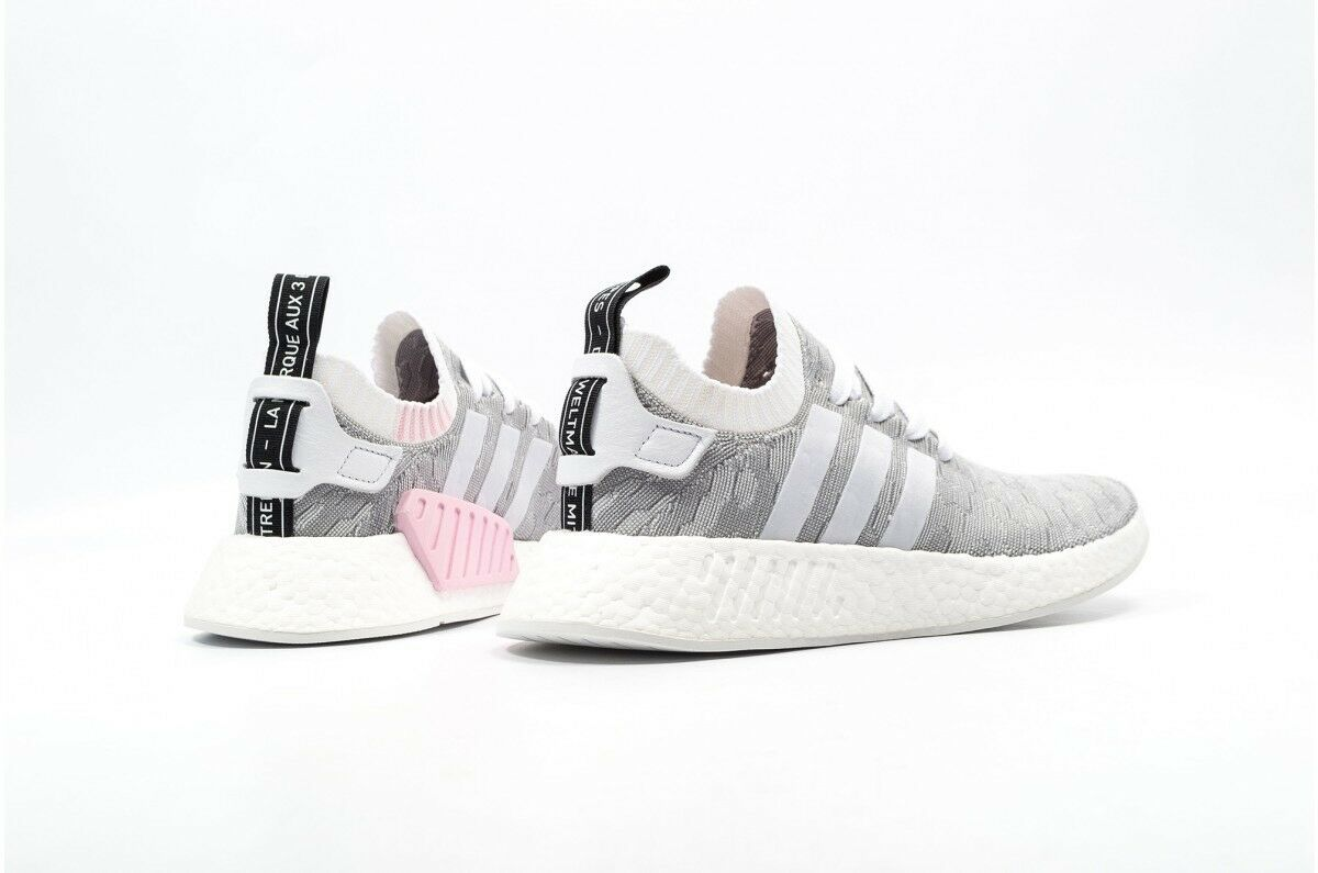 Women's NMD R2 PK W Pink BY9520 Adidas Primeknit shoes Boost Sz 10 New Clearance
