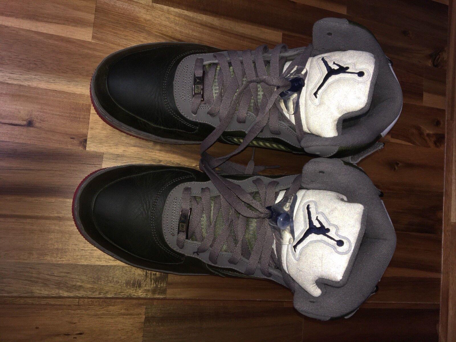 Nike Air Jordan Fusion 5 AJF 5 Retro Premier MOJJ Grey Nurse Size 12.5 VNDS