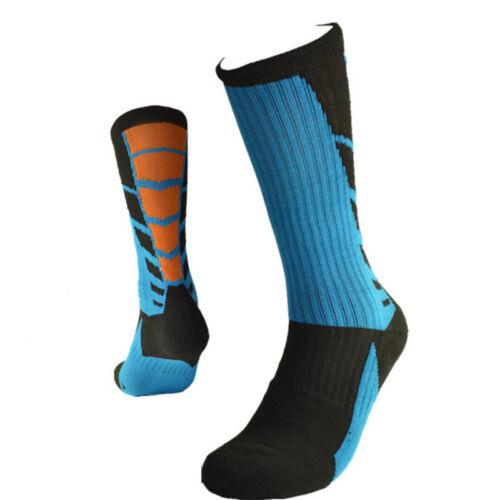High Quality  Professional Sports Men Knee Socks Elastic Basketball Footbal