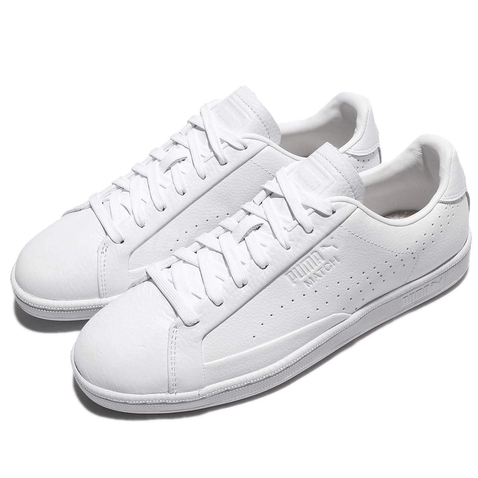 Puma Match 74 tumbled Leather triple Blanco Hombre Zapatos zapatos zapatillas formadores 363884-01 baratos zapatos Zapatos de mujer zapatos de mujer 9fc354