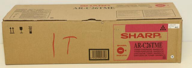 Sharp AR-C26TME AR-C26TME Tonerkartusche magenta 5.500 Seiten