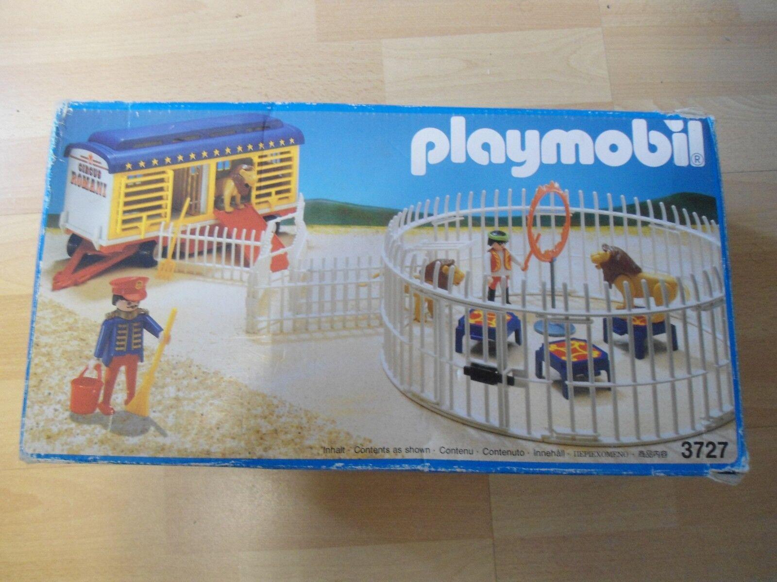 Playmobil  Set Zirkus 3727   RaubtierKleidur mit Wagen   gebraucht