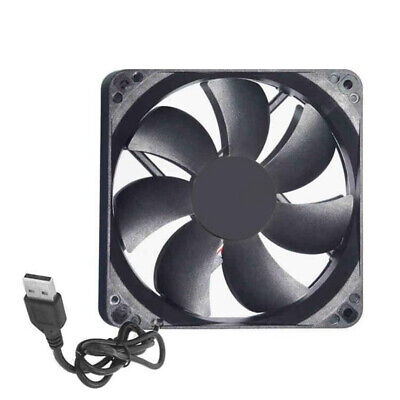 USB Cooling Fan Silent Computer Case PC CPU Protection DC 5V 120 x120 x25mm