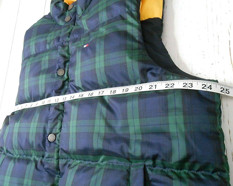 TOMMY HILFIGER Reversible Down Puffer Vest L Plai… - image 12