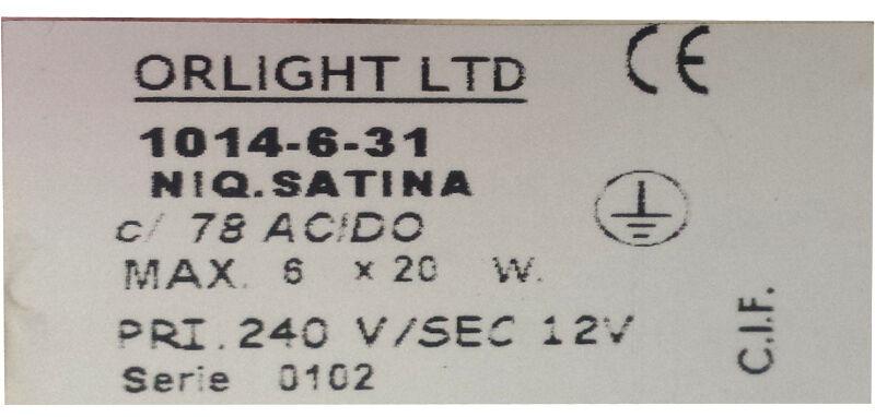 Design Soffitto 6 6 6 Spot Light 6x20W G4 Lampadine Lampada moderna in raso proiettorino DA INCASSO FARETTO c17c6d