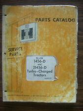 Ih Farmall Mccormick International 1456 21456 Parts Manual