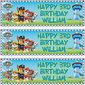 2-x-personalized-birthday-banner-party-PAW-Patrol-boys-girls-any-name-ages