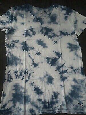 Details about  /Victorias Secret PINK perfect crew T Shirt NEW size large