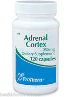 Prothera Adrenal Cortex 250 Mg 120 Caps - Exp Date: 03/2018