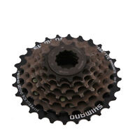 Shimano Cs-hg20-7 12-28t 7 Speed Bike Cassette For Road Mountain Bicycle