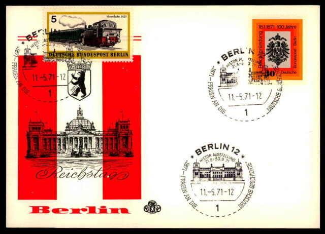 BERLIN 1969 REICHSTAG 1. MAI ARCHITEKTUR ARCHITECTURE ap87