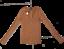M Value 49.90 Express sweater v-neck long sleeve Camel Size