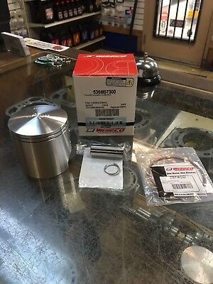 "Wiseco Top End Piston Gaskets Rebuild Kit 72.50mm 020/"" Polaris 250 Trail Blazer"