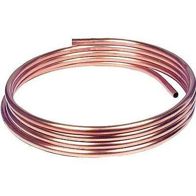 1,0m Kupfer-Installationsrohr weich, 6 x 1,0 mm CU Rohr 6mm AD bis 50m lieferb.