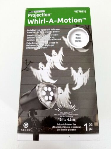 *NEW* Halloween LED Light Show Projection Whirl-A-Motion Ghost Projector Ghosts