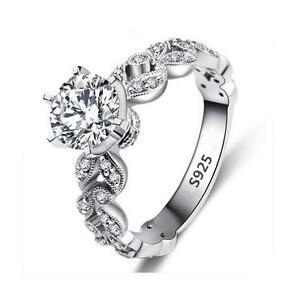 Ring-925-versilbert-mit-Zirkonia-Solitaer-Ring-Damen-Ring-Verlobungs-Ring-Neu