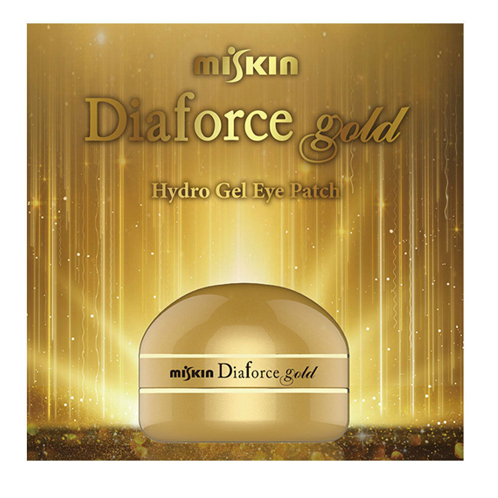 MISKIN Diaforce Gold Hydro-Gel Eye Patch Eye Mask 60 sheets Sale