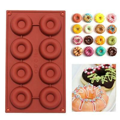 Silicone Donut Mold Doughnut Cake Chocolate Soap Candy Jelly Baking Pan Mould YG