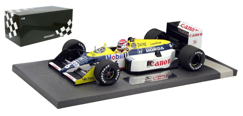 Minichamps williams FW11B JAPAN 1987-Nelson Piquet champion du monde échelle 1 18