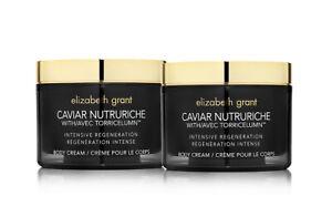 ELIZABETH GRANT Caviar Nutruriche Intensive Regeneration Body Cream 200ml x TWO