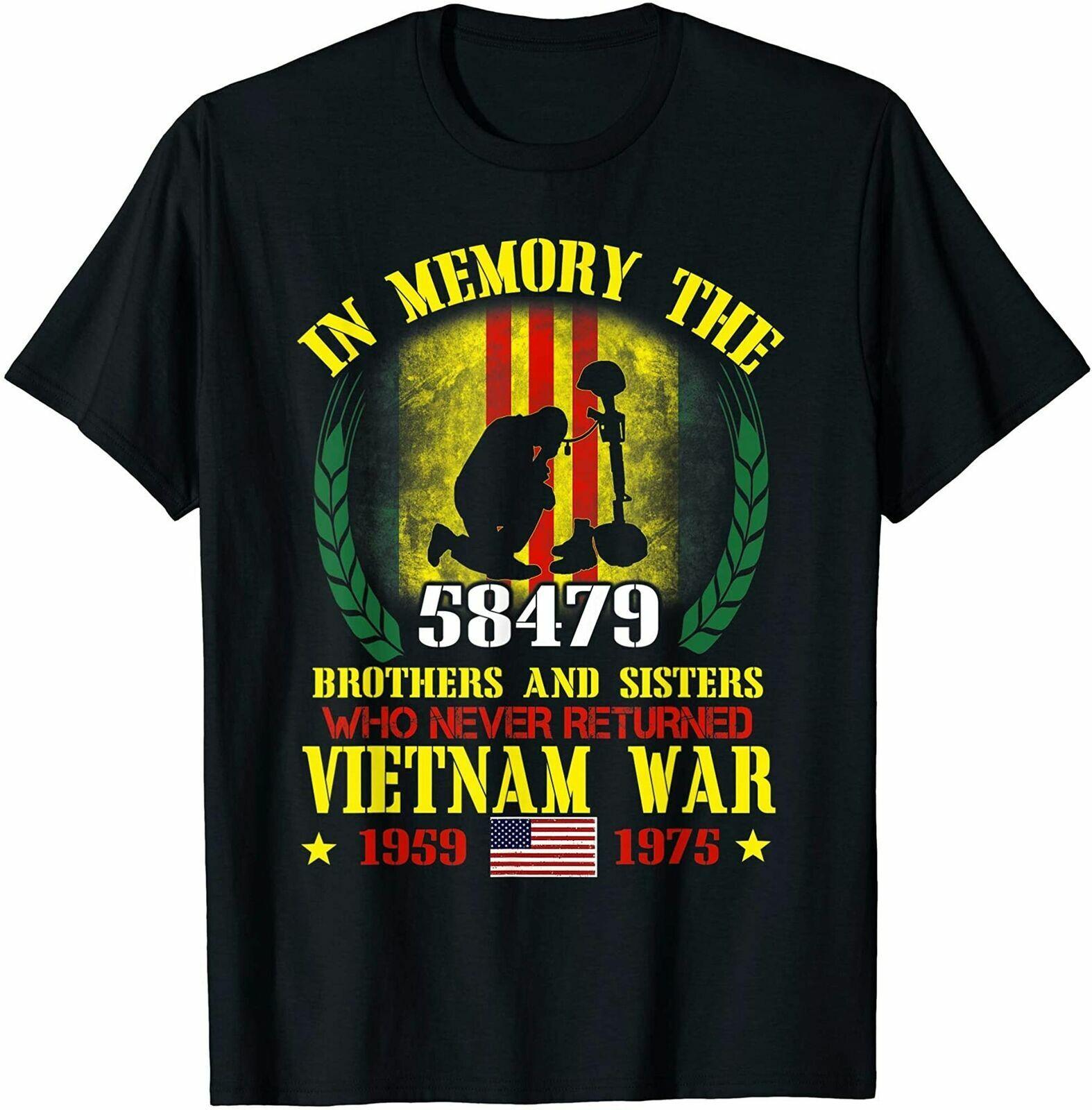 Vietnam Veteran In Memory The War Vietnam Gift T-Shirt Masswerks Store