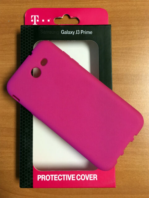 T-Mobile Samsung Galaxy J3 Prime Flex Case Protective Cover - Pink