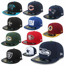 1a2916cf4f18 NEW ERA CAP 59FIFTY NFL ON FIELD FOOTBALL RAIDERS REDSKINS GIANTS SEAHAWKS  UVM