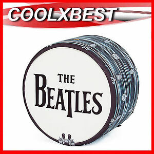 OTTOMAN-STOOL-SEAT-THE-BEATLES-DRUM-By-WOOUF-DESIGNER-ROCK-POP-COLLECTOR-PIECE